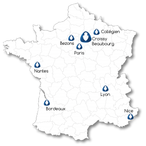 Carte France Acorus