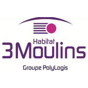 Trois moulin habitat logo