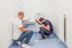 Renovation salle de bain PMR