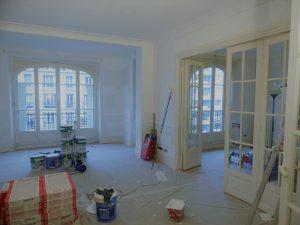 Rénovation peinture appartement Paris