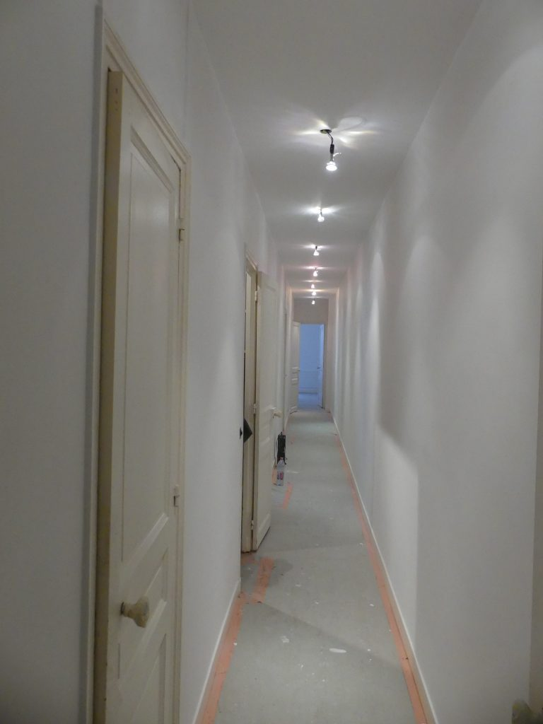 Pack peinture couloir
