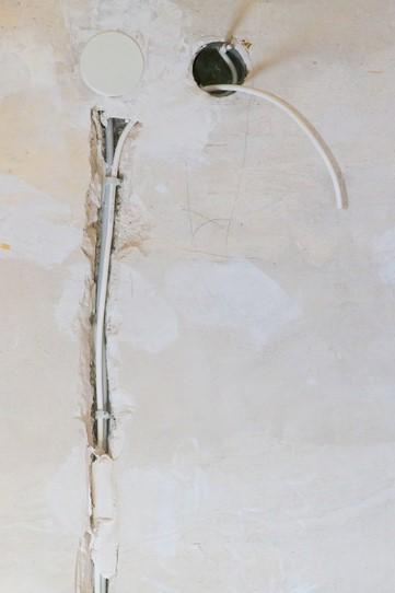 tranchée mur porteur