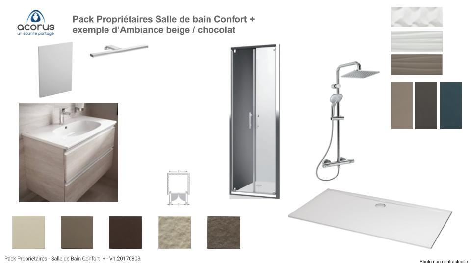 Pack Proprios salle de bain Confort +