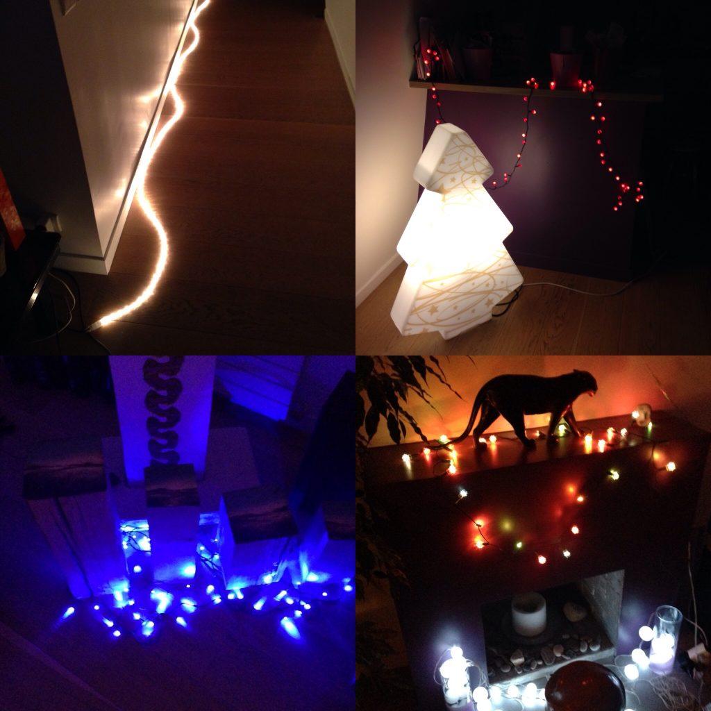 Noël lumières électricité
