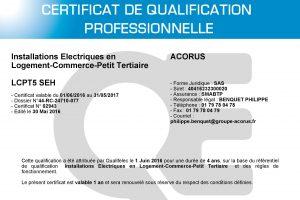 certificat qualifelec