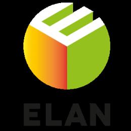 ELAN logo carré