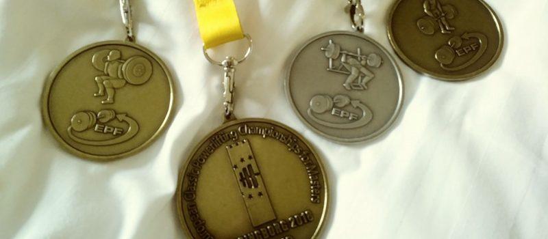 médailles force athlétique