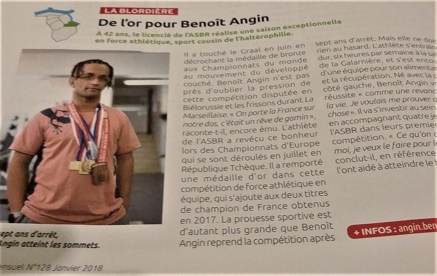 article Benoit Angin