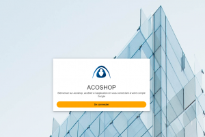 ecran Acoshop